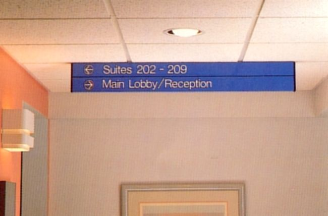 Hospital Wayfinding Signage Systems And Ada Compliant